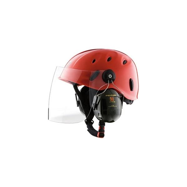Casco Combi 397 Visor+Orejeras Rock Helmets