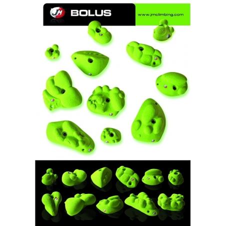 Holds Bolus Set JM Climbing