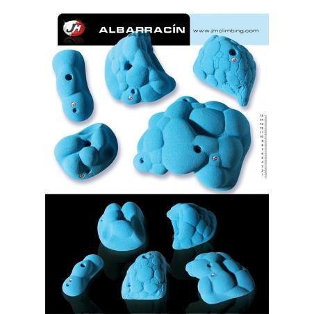 Holds Albarracin Set JM Climbing