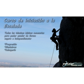Initiation Climbing Course esKalarTienda