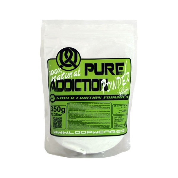 Magnesio Pure Addiction Powder 350 gr (10 Unidades) Loop Wear
