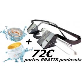 Belay Glasses Y&Y + Cream ClimbSkin
