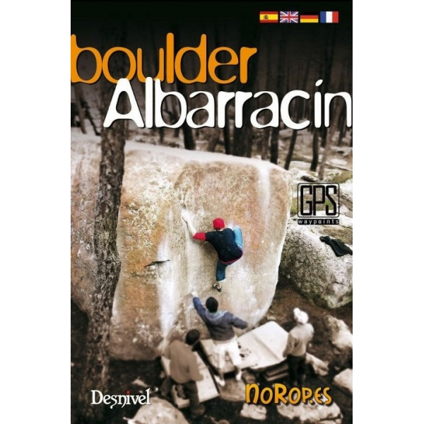 Libro Boulder Albarracin Desnivel