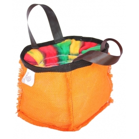 Chalk Bag Nature Orange (Boulder) Momou