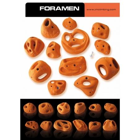 Holds Foramen Set JM Climbing