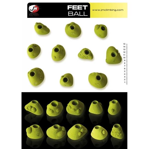 Presas Feet Ball Set JM Climbing