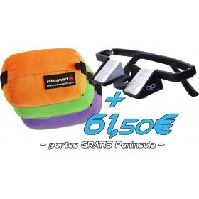 Gafas Asegurar Plasfun + Columnvert