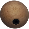 Holds 2 Wooden Balls 10cm Dolmen