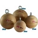 Holds 2 Wooden Balls 8cm Dolmen