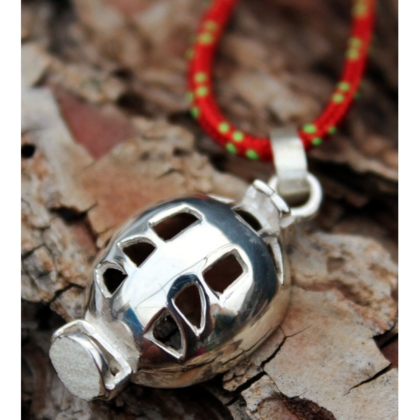 Necklace Caving Helment Moncho M