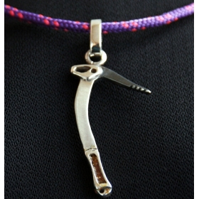 Necklace Enameled Ice Axe Moncho M