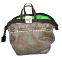 Chalk Bag Green Leather (Boulder) Momou